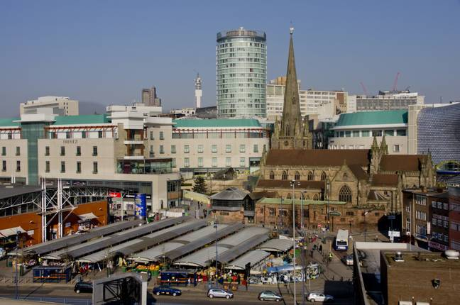 Poor old Birmingham. Credit: PA