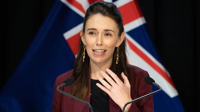Jacinda Ardern announced the news earlier this week. Image: PA