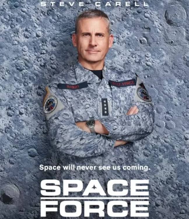 Space Force is returning for a second season. Credit: Netflix