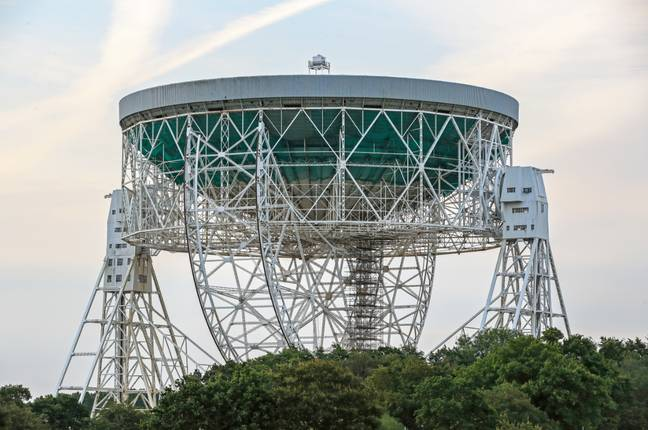 The Lovell Telescope at Jodrell Bank Observatory. Credit: PA