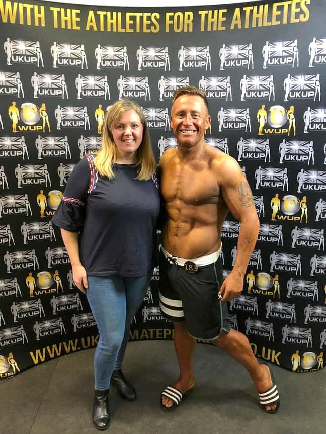 Darren Jones with his wife Sarah. Credit: Storytrender
