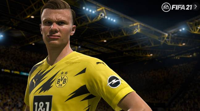 EA Sports recently signed Erling Haaland as one of its ambassadors