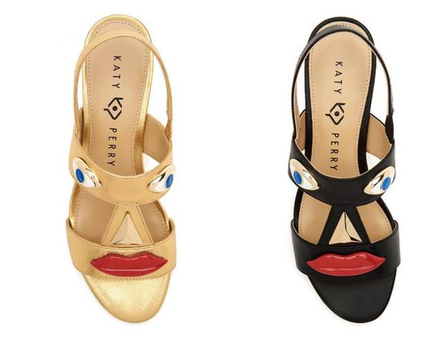 Katy Perry said she was 'saddened' by the fact the shoes has been compared to blackface. Credit: Katy Perry Collections