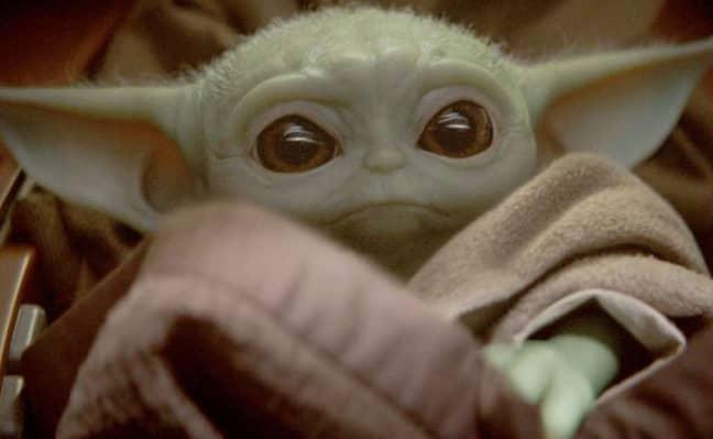 Fans love Baby Yoda. Credit: Disney