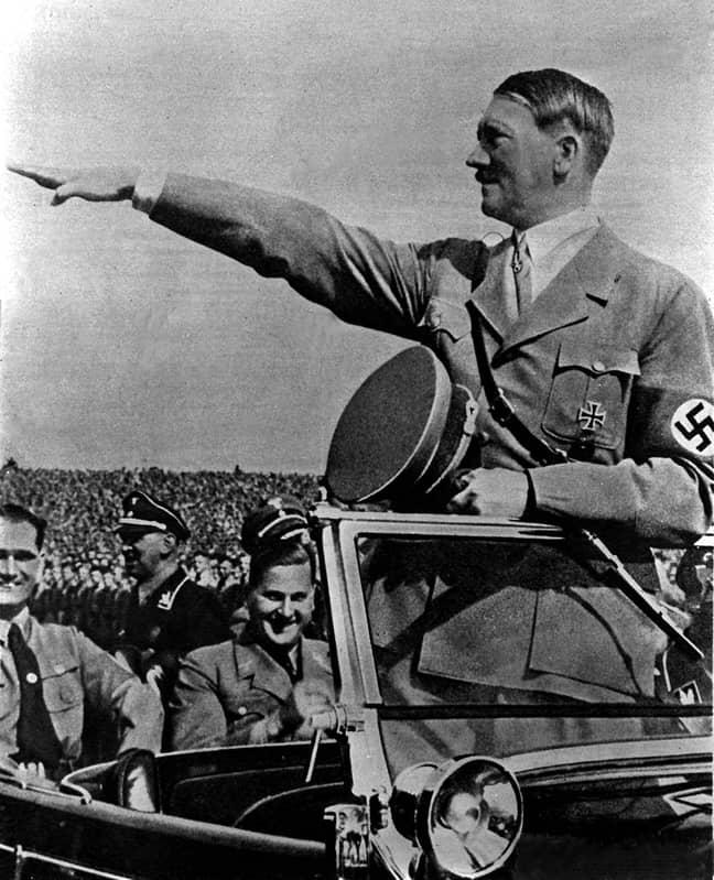 Former German leader, Adolf Hitler. Credit: PA