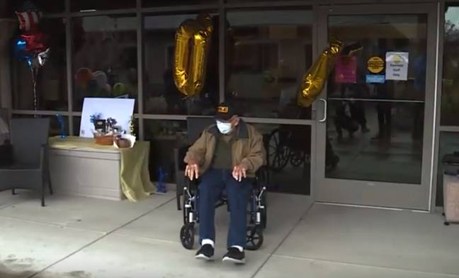 Bill may be the oldest person to have survived coronavirus. Credit: KOIN 6