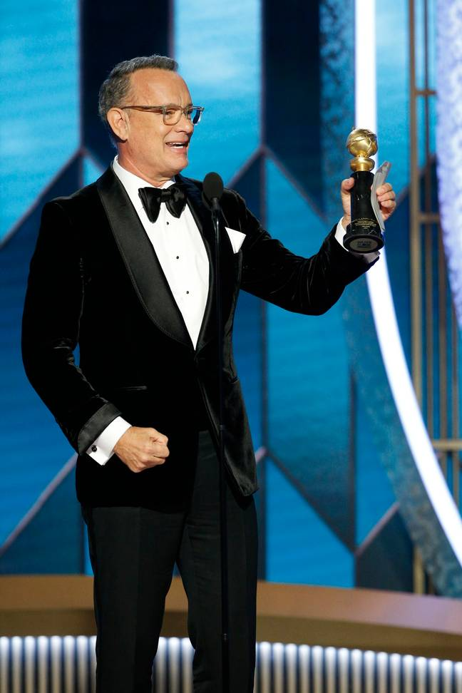 He was awarded the Cecil B. DeMille Lifetime Achievement Award at the Golden Globes. Credit: PA