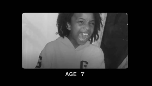 Roshaante as a child when he was being raised as a girl. Credit: UNILAD