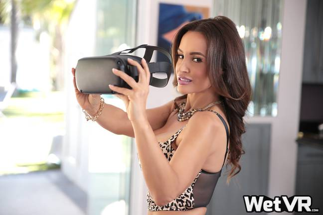 She recently retired after filming two Virtual Reality scenes. Credit: Supplied/Lisa Ann