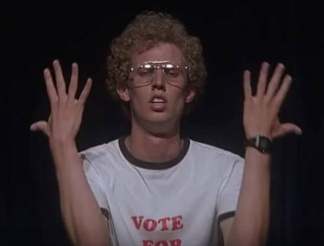 Jon Heder says he's been talking about making a sequel. Credit: Paramount Pictures