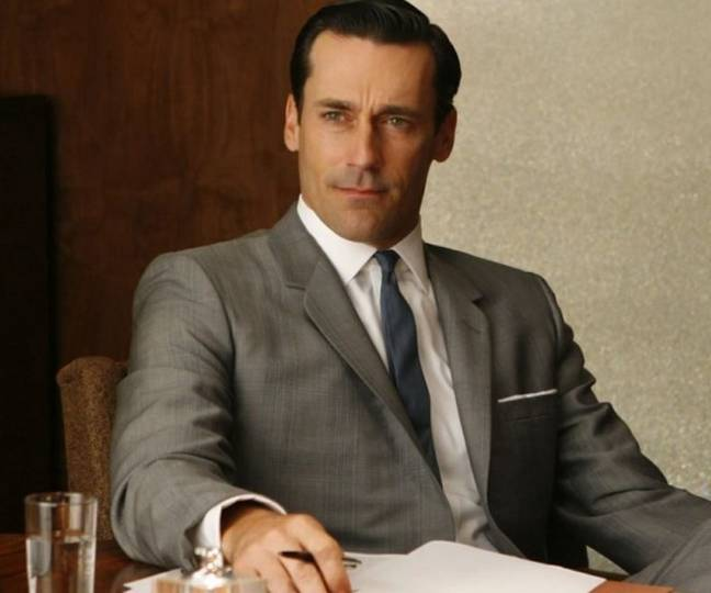 He eventually made his big break in Mad Men. Credit: AMC