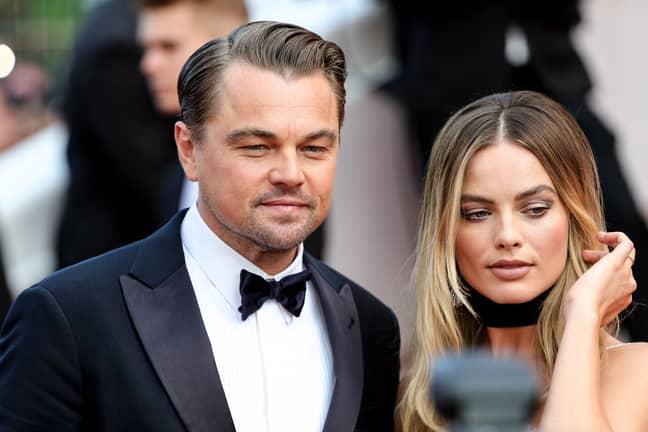 Margot and Leonardo. Credit: PA