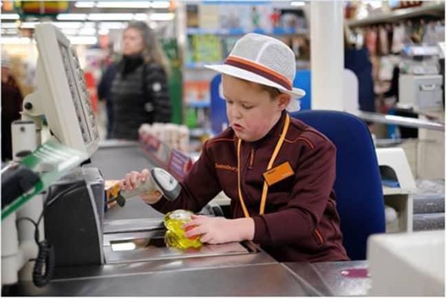 Sainsbury's lad 3