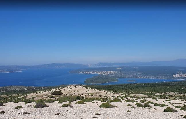 Adamcova was found on the northern Adriatic island of Krk. Credit: Google Maps