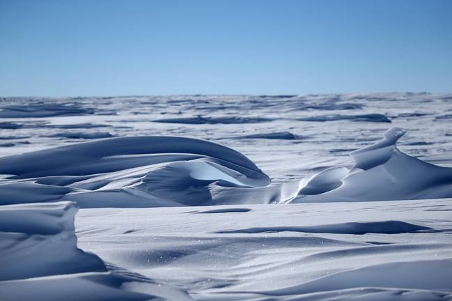 The South Pole is warming three times quicker than the rest of the planet, a study has found. Credit: PA