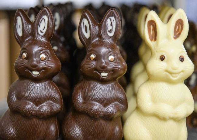 Can chocolate bunnies be deemed non-essential? Credit: PA