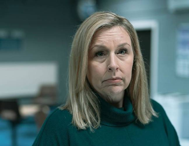 Hannah Walters plays Stephen Graham's on-screen wife in Time. Credit: BBC