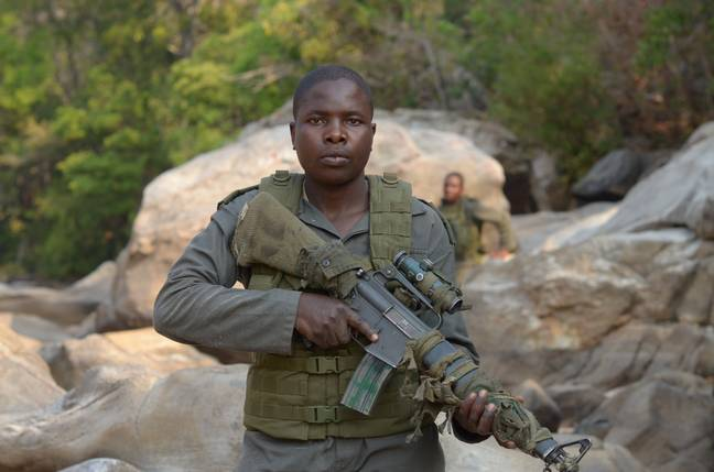 Nyaradzo was once a slave to her husband, she is now part of an elite team protecting the world's most endangered animals. Brent Strirton