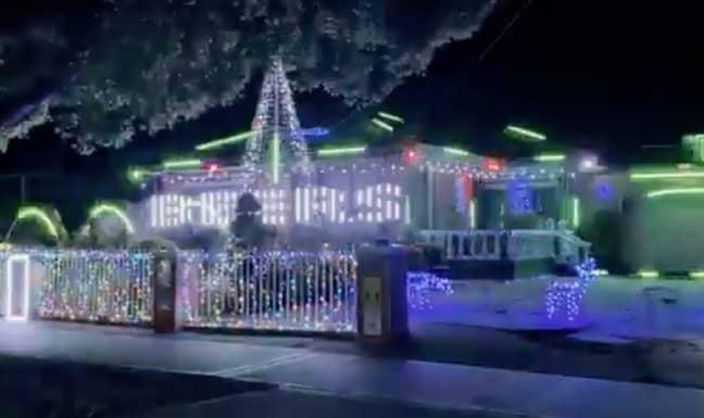 Credit: Melbourne Christmas Lights locations/Facebook