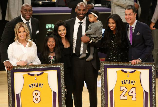 NBS legend Kobe Bryant and his daughter Gianna tragically died in a helicopter crash this morning. Credit: PA