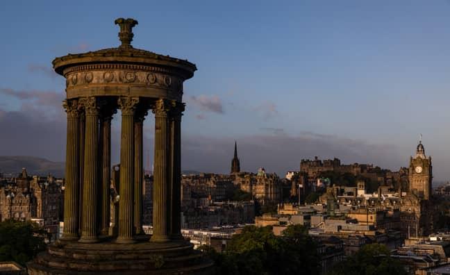 Edinburgh came third. Credit: PA