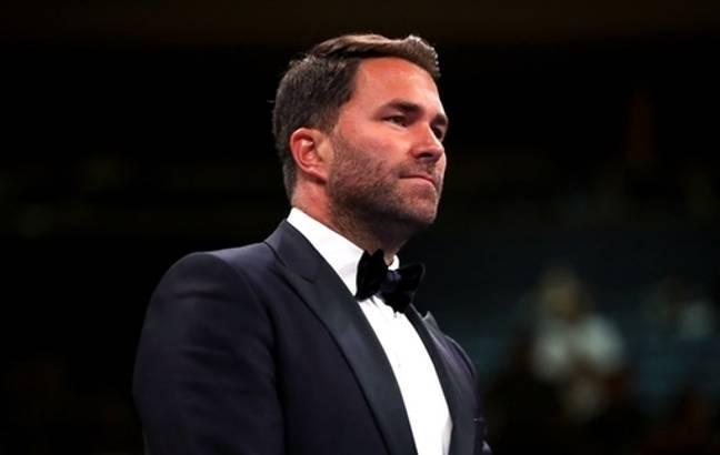 It is believed that promoter Eddie Hearn will be involved. Credit: PA