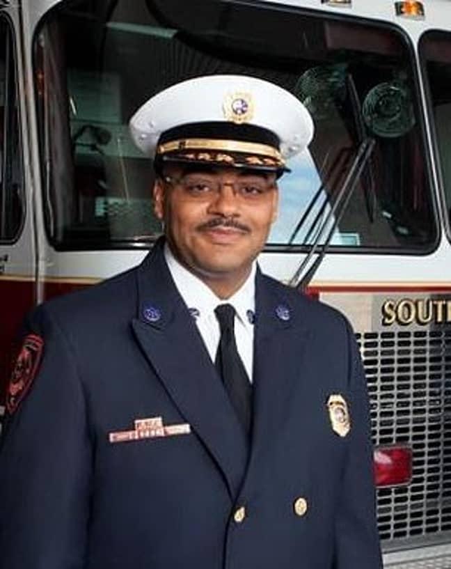 Johnny Menifee. Credit: Southfield Fire Department