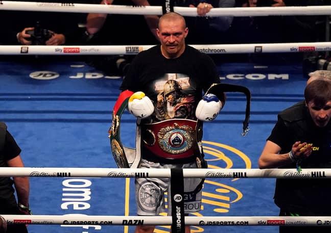 Oleksandr Usyk is the new heavyweight champion. Credit: Alamy