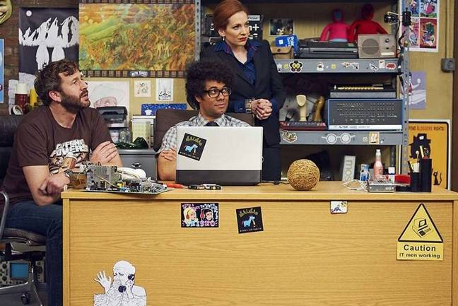 The IT Crowd pipped Peep Show to top spot. Credit: Channel 4