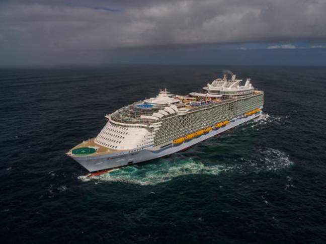Arron Hough went overboard a Royal Caribbean liner on Christmas Day. Credit: PA