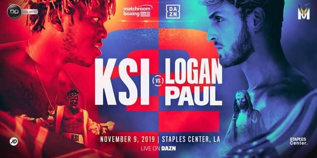 Logan Paul Starts 'JJ Has No D***' Chant At KSI Press Conference. Credit: Instagram/Logan Paul