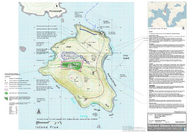 Here's a map of the island. Credit: Neil Risk Solicitors and Estate Agent