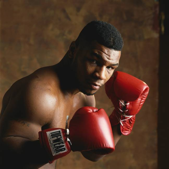 Tyson in 1988. Credit: PA