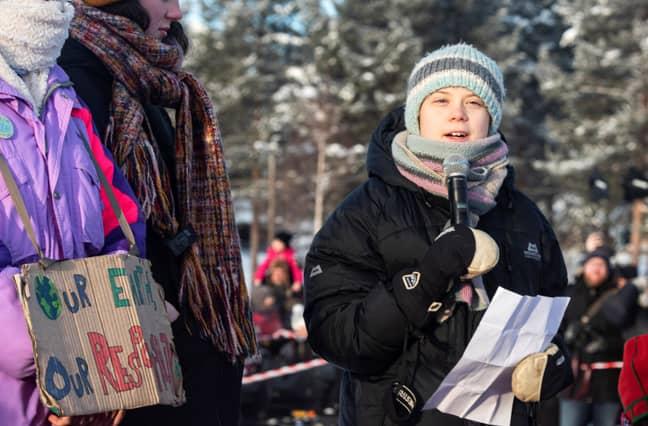 Greta Thunberg. Credit: PA