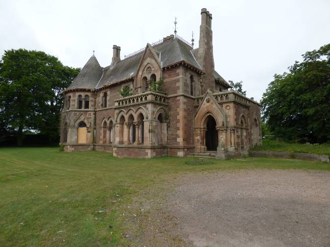 A-Listed French Gothic Style House In Scotland Could Be Yours For As Little As £1