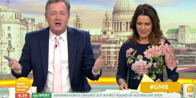 Susanna Reid was shocked at the remarks. Credit: ITV/Good Morning Britain