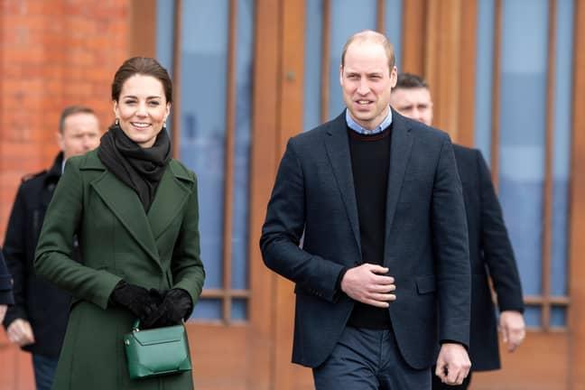 The Duke and Duchess of Cambridge. Credit: Benjamin Wareing/Alamy Stock Photo