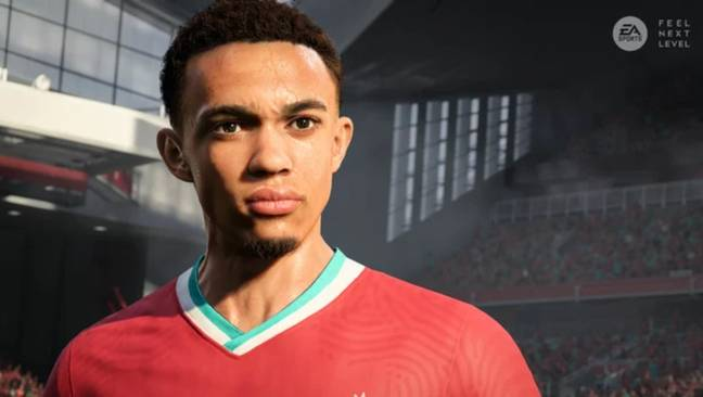 Trent Alexander-Arnold is an avid player of FIFA and could potentially feature on the cover