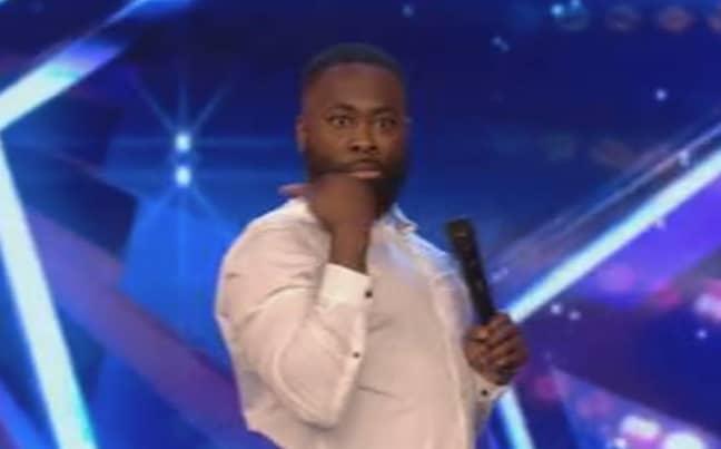 Kojo impressed judges. Credit: ITV/Britain's Got Talent