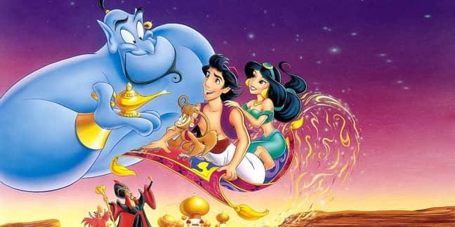 The original 'Aladdin' film. Credit: Disney