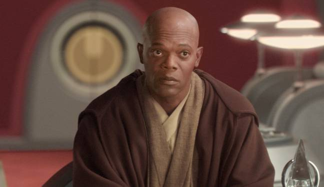 You can ask Amazon's Samuel L Jackson Alexa voice what is was like filming Star Wars. Credit: Lucasfilm/Fox