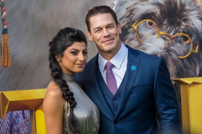 John Cena has married Shay Shariatzadeh in Florida. Credit: PA