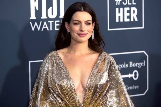 Anne Hathaway. Credit: PA