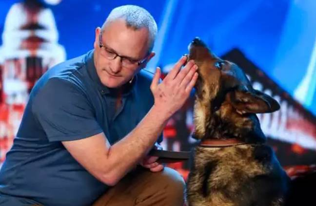Finn and PC Wardell on Britain's Got Talent. Credit: ITV