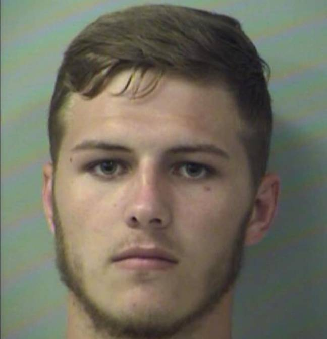 Hunter Mills has been charged with criminal mischief. Credit: Okaloosa County Sheriff's Office