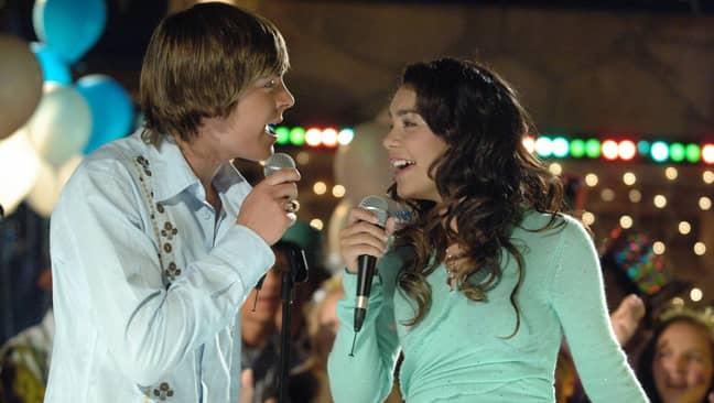 Zac Efron and Vanessa Hudgens as Troy and Gabriella. Credit: Buena Vista Television
