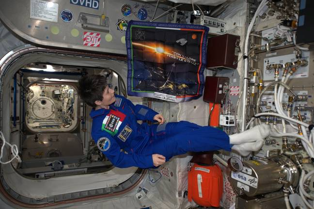 It took her a while to get used to walking again. Credit: ESA
