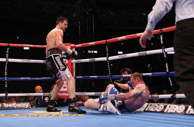 Froch was a great boxer, but is he decent scientist? Probably not. Credit: PA