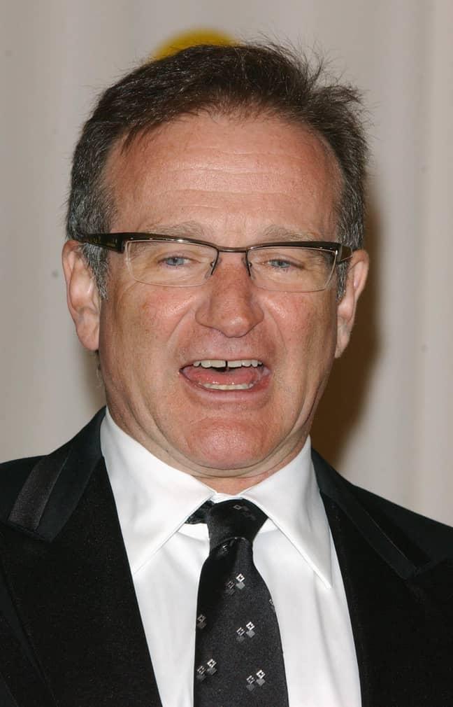 Robin Williams. Credit: PA