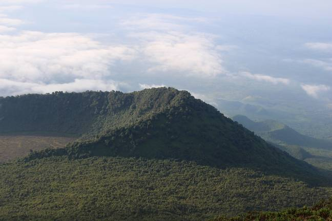 The Virunga National Park in the Democratic Republic of Congo. Credit: PA